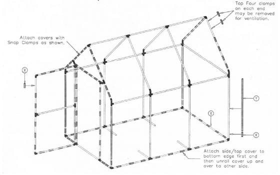 25  best ideas about pvc greenhouse on pinterest