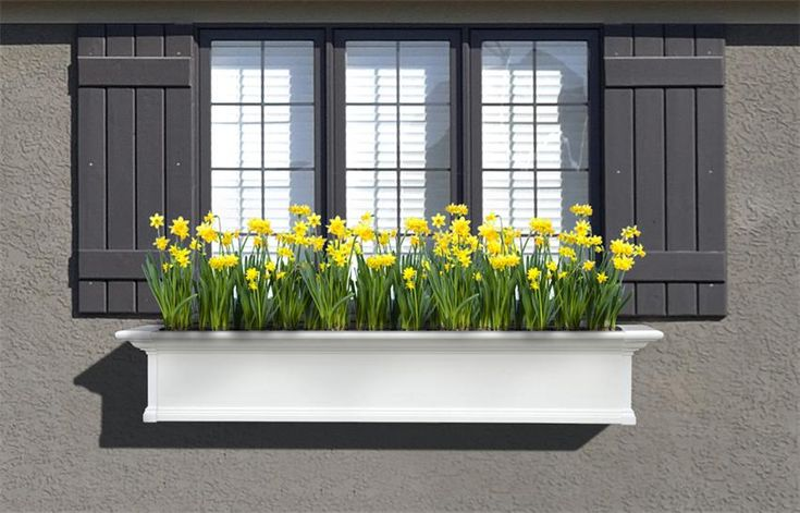 aluminum window flower boxes 2