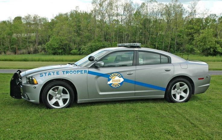 Kentucky State Police Charger.