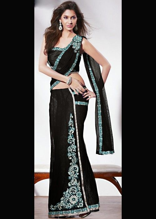 One Minute Lehenga Style Saree on Sale US$ 38.97 Click - ethnic-bargains.blogspot.co/uk/2014/03/price-drop-one-minute-lehenga-style.html