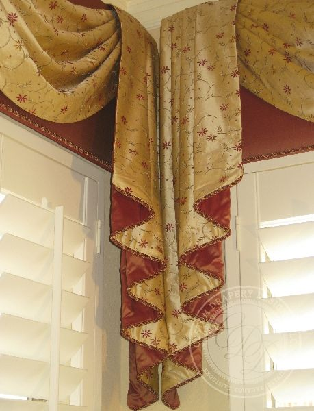 Pin By Shan Mcnow On Curtains Drapery Designs Custom Window Treatments Bedroom Drapes