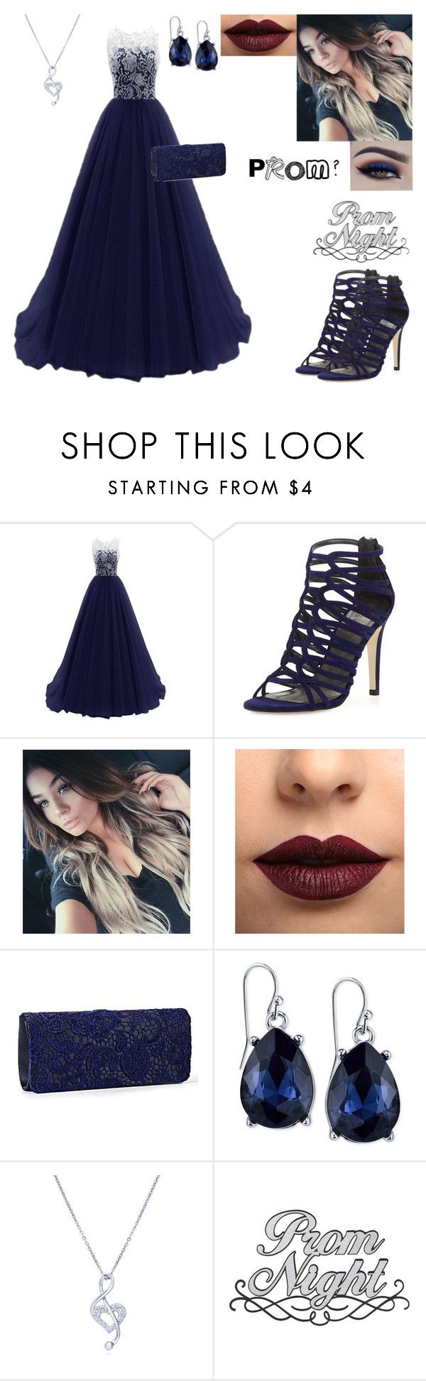 """""""prom?"""" by heather-gabrielle-tomlinson on Polyvore featuring Stuart Weitzman, Anastasia Beverly Hills, LASplash, 2028, BERRICLE and school"""