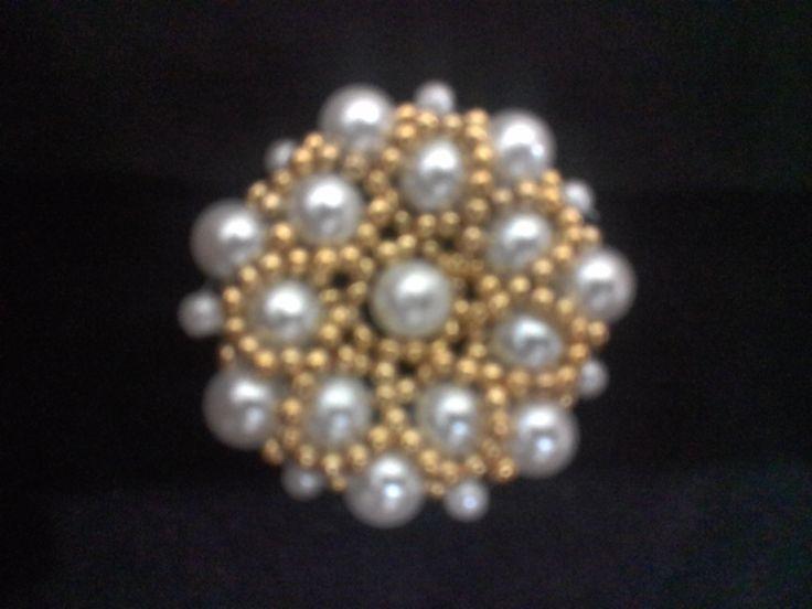 Flor Dália de Perolas - Flower Dahlia Pearl