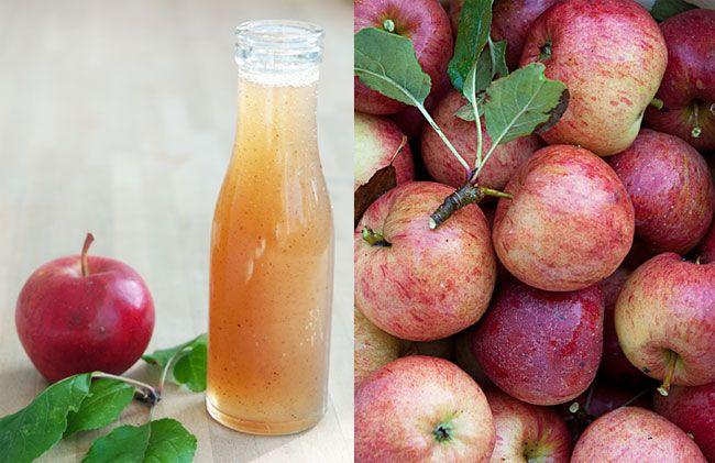 Hjemmelavet æblesirup til pandekager, æbleskiver, på morgengrøden eller skyr. Uhm, det er ren efterårssolskin på flaske og det smager forrygende.