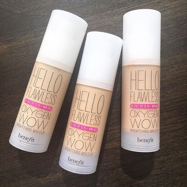We love hello flawless oxygen wow foundation for a smooth & natural complexion!