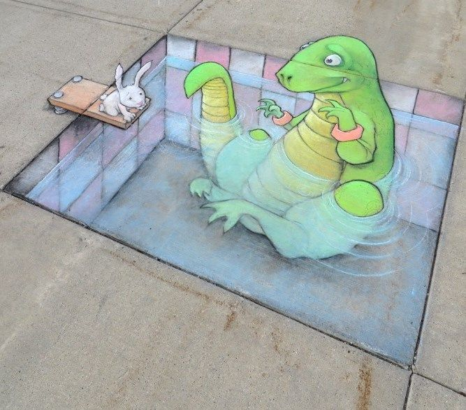David Zinn in Shelby Charter Township, Michigan (August 10, 2014)