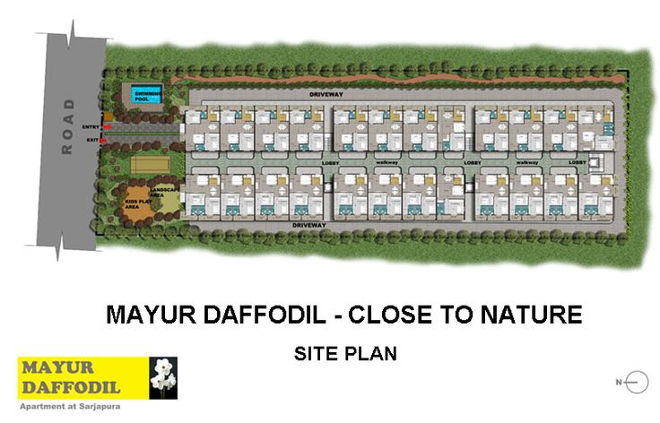Mayur Daffodils - Site Plan. http://bit.ly/1BLGjLq