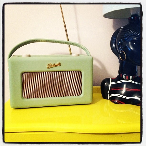 Roberts radio - my constant companion - @donnaflower- #webstagram