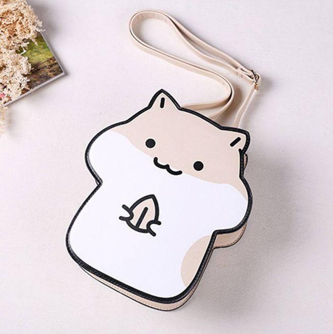 "Kawaii cartoon hamster bags Coupon code ""cutekawaii"" for 10% off"