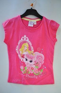 Bluzka dziewczęca Księżniczki OE1726  _A12  (3-8)