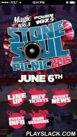 Stone Soul Picnic Columbus  Android App - playslack.com ,  The Stone Soul Picnic is an all day outdoor music, food, and vendor festival held at the beautiful Columbus Commons in Columbus, OH.Performances from yesterday and today's R&B, Hip-Hop, and Classic Soul superstars will be going on all day! Plus attendees can enjoy the best food and retail vendors Columbus has to offer!This app is your mobile gateway to the Stone Soul Picnic. With it you can:-buy tickets to Stone Soul-get…