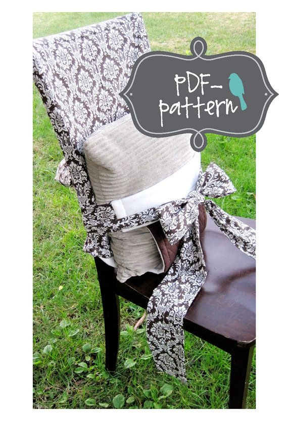 Tie-On Child Chair PDF (INSTANT DOWNLOAD Sewing Pattern)