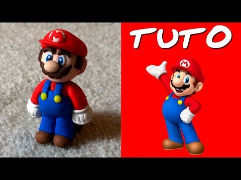 TUTO FIMO   Mario - polymer clay tutorial
