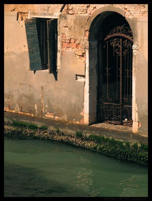 Venice Picture: Floods (or 'acqua alta') by Peter Visontay