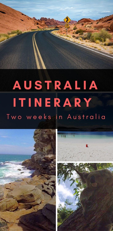 Australia Travel itinerary, how to travel Australia, Australia travel tips, two week Australia itinerary