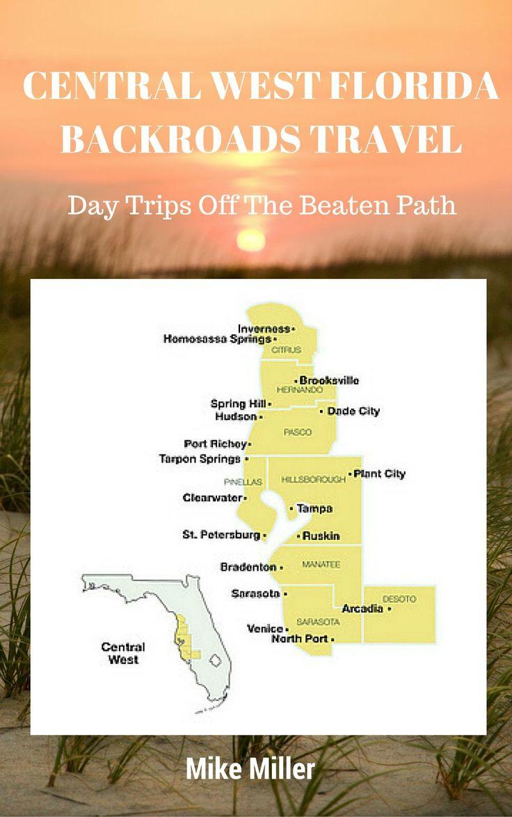Central West Florida Travel Guide: Florida Backroads Travel
