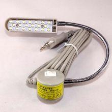 Ferramentas de acessórios de costura 820 M LED tensão de funcionamento da máquina e candeeiro de mesa 110/220 pescoço de ganso com diferentes plug frete grátis(China (Mainland))