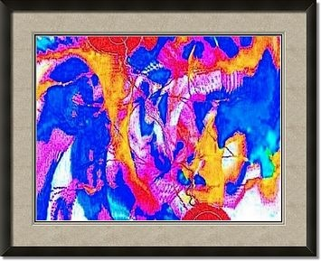 A LIFETIME OF BAD MEMORIES By Tony WHINCUP framed artwork
