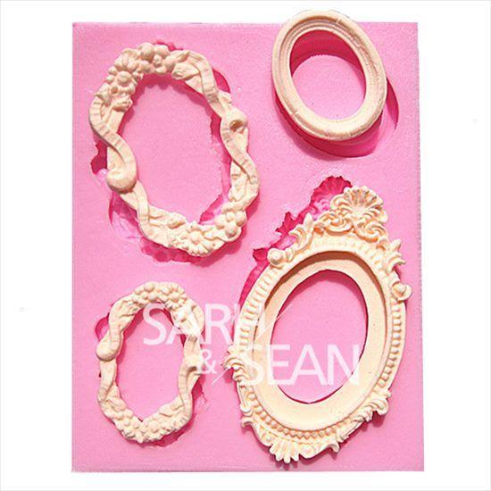 お菓子シリコン型モールド フラワー ケーキ クッキー チョコレートローズ バラ 薔薇 お菓子  マドレーヌ 手作り石鹸 キャンドル 型サイズ 7*4cm