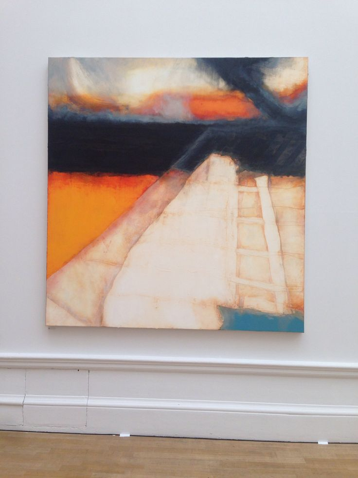 Hughie O'Donoghue. Royal Academy summer exhibition 2014. Photo by Isobel Blaikie.