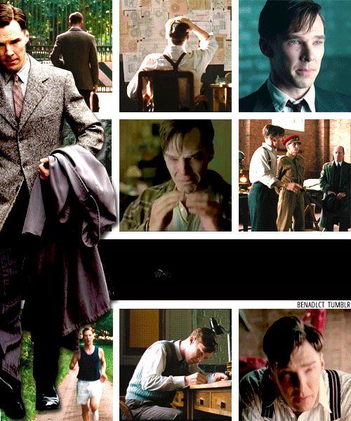 THE IMITATION GAME (2014) ~ Benedict Cumberbatch as Alan Turing. [Video/GIF]