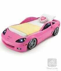 STEP 2 - PINK CORVETTE BED - Hottest new car on the block.
