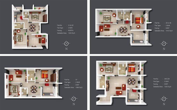 Kshiptha - Apartment (Floor Plan)