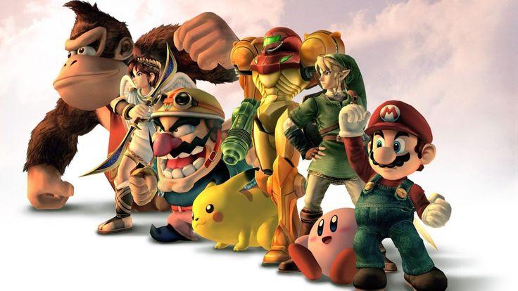 1920x1080 Nintendo, Kirby, Mario, Pikachu, Samus Aran