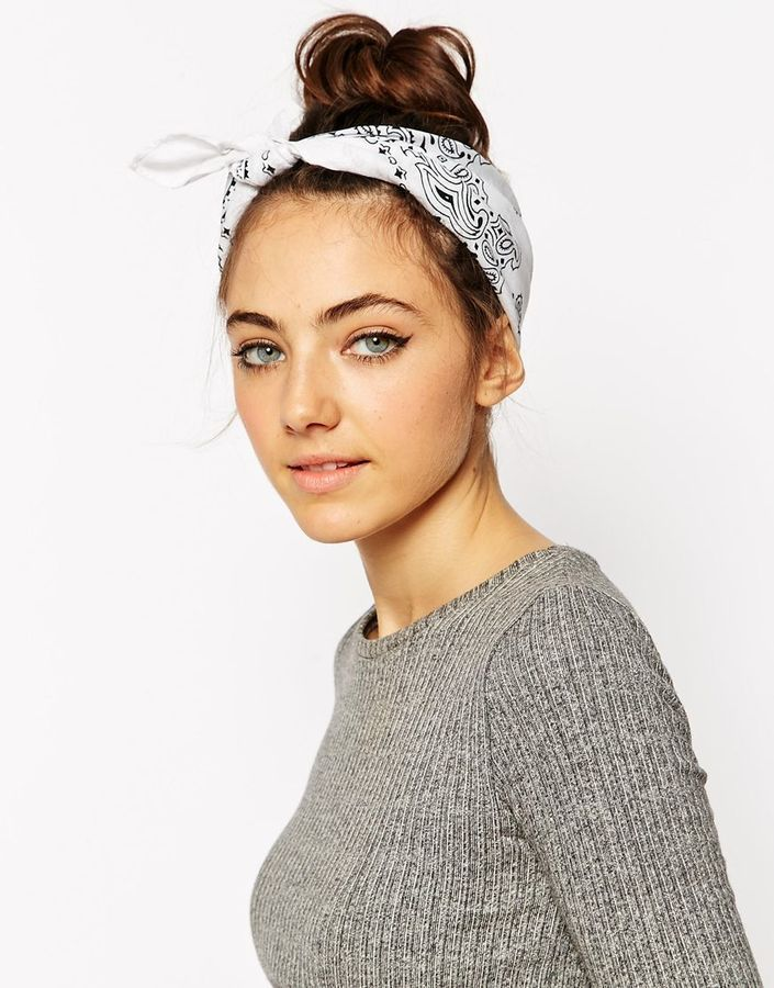 ASOS Bandana Print Headscarf Neckerchief