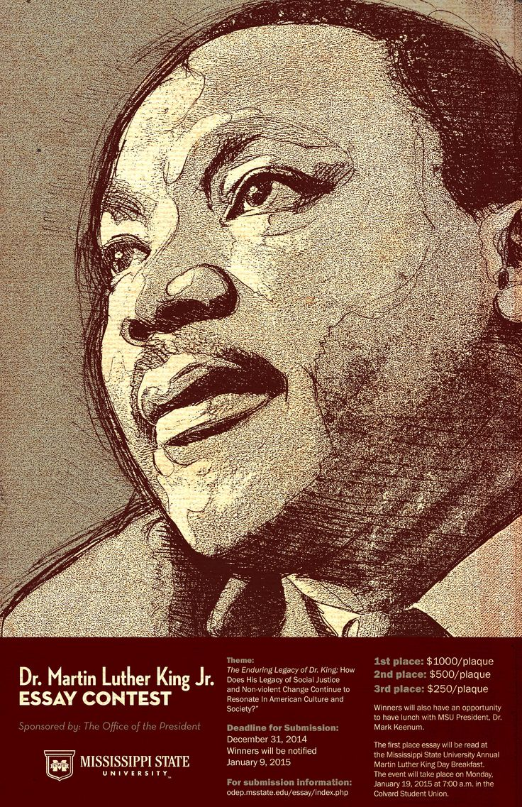Martin Luther King Jr Unity Breakfast Writing Contest Deadline for ...