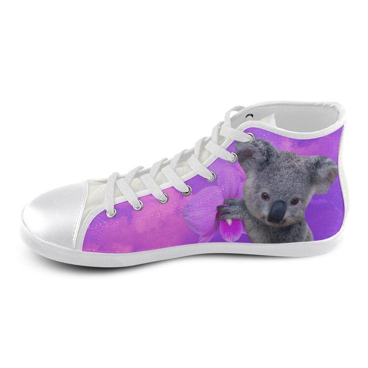 Koala High Top Canvas Kid's Shoes
