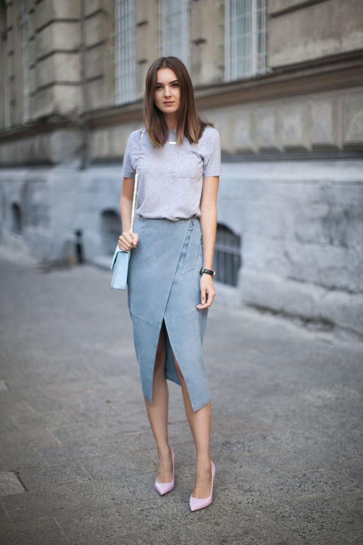 17 Best ideas about Suede Skirt on Pinterest | Winter fashion 2016 ...