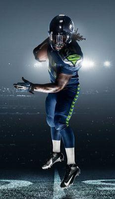 Nike Football - Marshawn Lynch #Seahawks