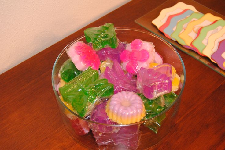 Hand made soap, as a gift in my daughter´s Christening day