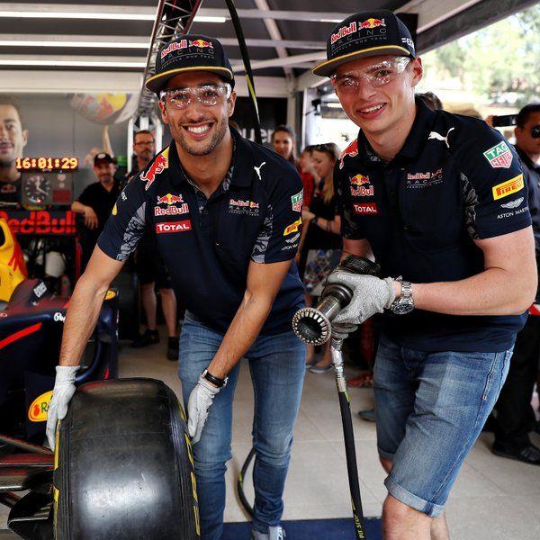 Red Bull's Madmen!