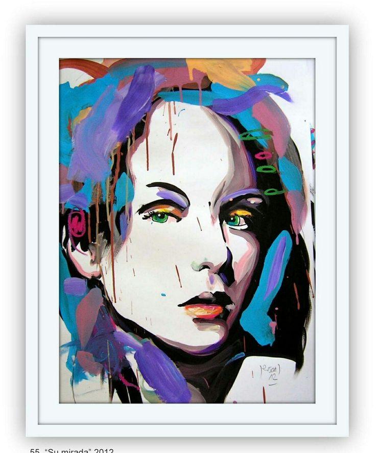 Jerson Jimenez, 2012, Acrylic on Paper, 64×44 cm.