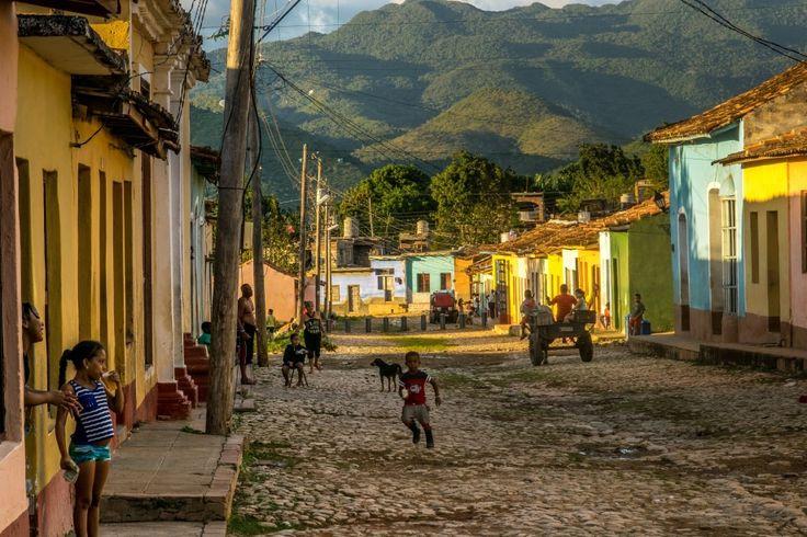 Barrio Los Tres Cruces, Trinidad, Kuba