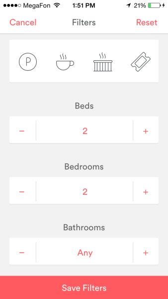 From Airbnb. For number menu.