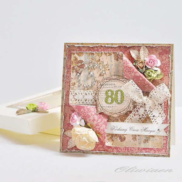 40 best 80th birthday cards images on pinterest 80th birthday 80th birthday scrapbook bookmarktalkfo Gallery