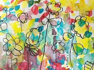 Kindergarten flowers