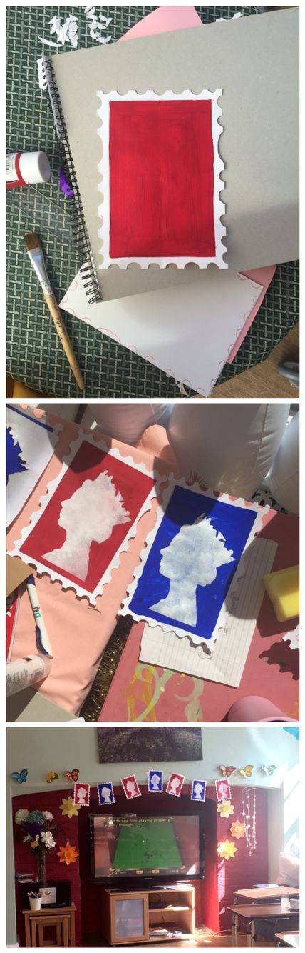 Queen's birthday crafts