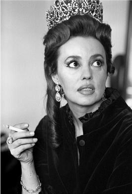 Jeanne Moreau, 1967 photo by Jane Brown