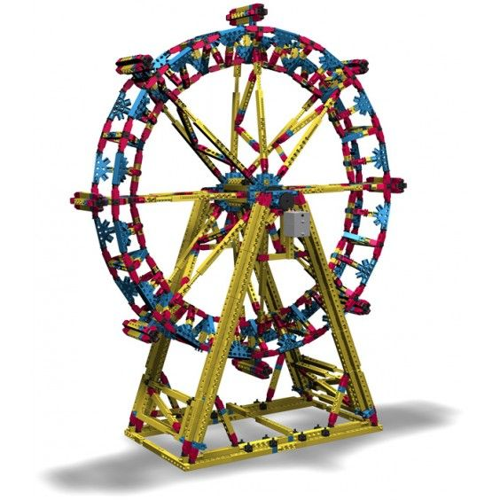 Engino - Mega Structures London Eye with Motor. #Entropywishlist and #pintowin WOW what a way to introduce engineering to our girls!
