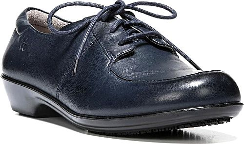 Naturalizer Shoes - Put comfort to work for you in this performance leather oxford. Leather upper with padded collar for long-lasting comfort. - #naturalizershoes #navyshoes