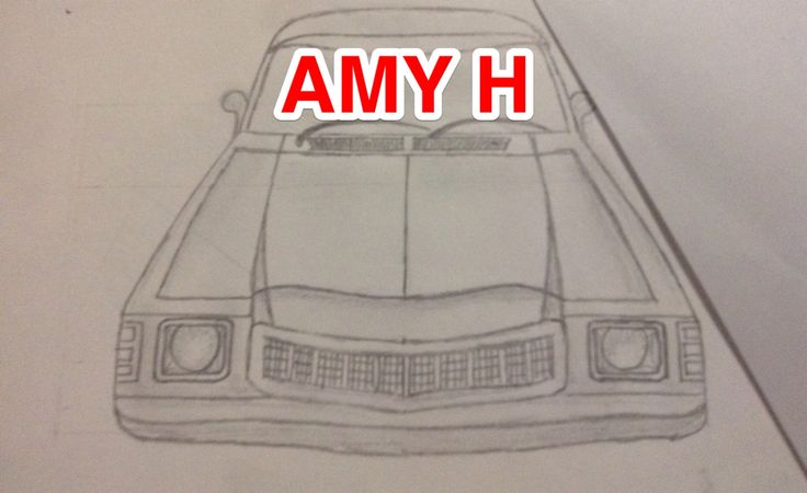 Cool realistic hc Holden drawing