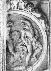 Orfeo ed Euridice - Annibale Carracci - ca. 1597-1600 Roma, Palazzo Farnese, galleria