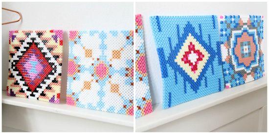 DIY Marokkaanse tegels - kleurrijk wonen, zelfmaken | Flair at Home