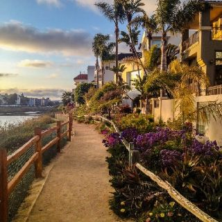 Venice canal in Marina Del Rey California. Soo cute during sunset! Went recently and it's beautiful!