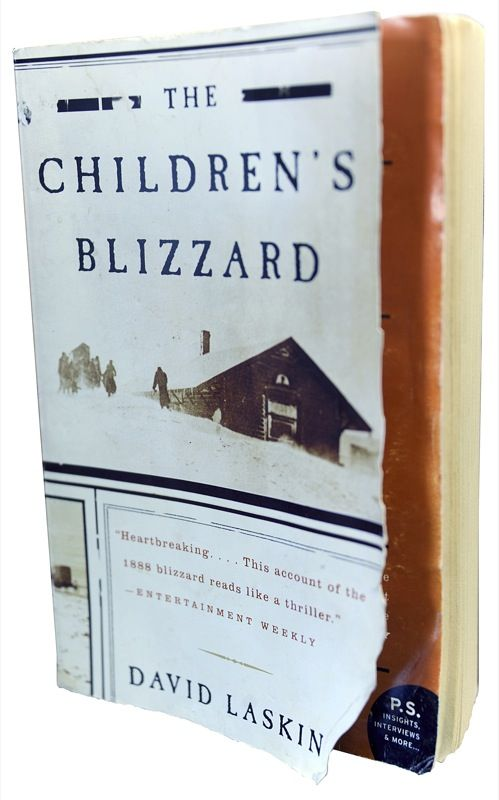 The Children's Blizzard by David Laskin covers one of the saddest days in South Dakota history, Jan. 12, 1888.