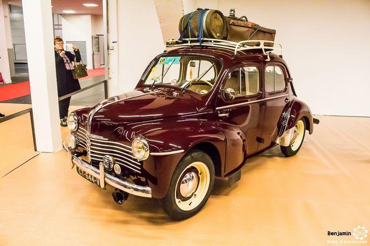#Renault #4CV au salon Auto Moto Retro Dijon. Reportage complet…